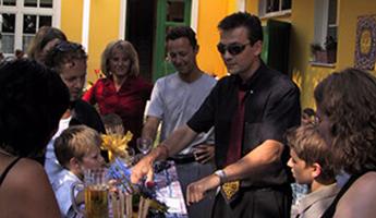 Show: Zauberer für Geburtstagsfeier